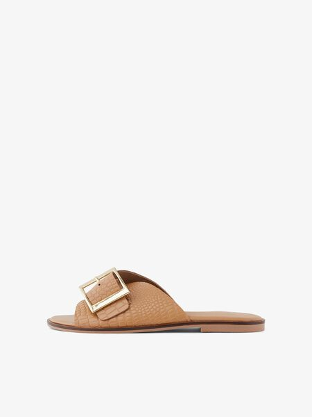 YASRIMLO LEATHER SANDALS