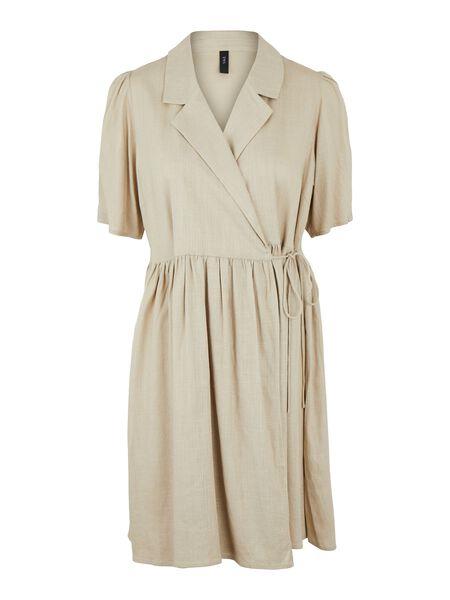 YASHIMINA WRAP DRESS