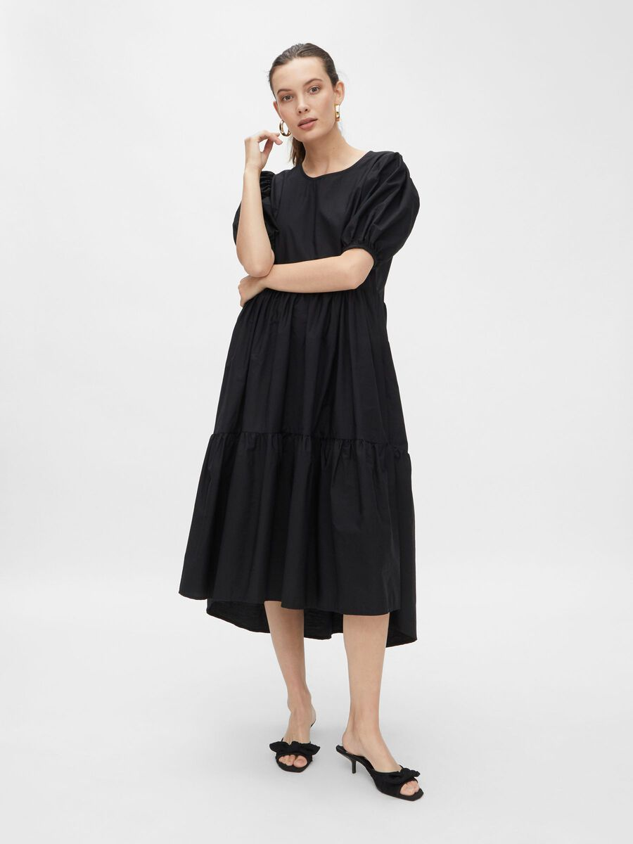 YASANDREA DRESS, Black, highres