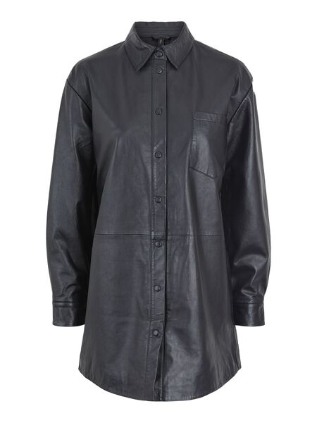 YASEMANU LEATHER SHIRT