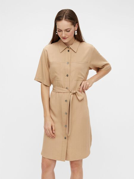 YASLOVA SHIRT DRESS