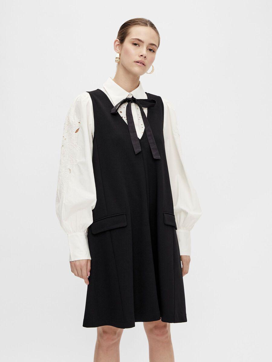 Y.A.S YASMALEA SLEEVELESS DRESS, Black, highres - 26024050_Black_003.jpg