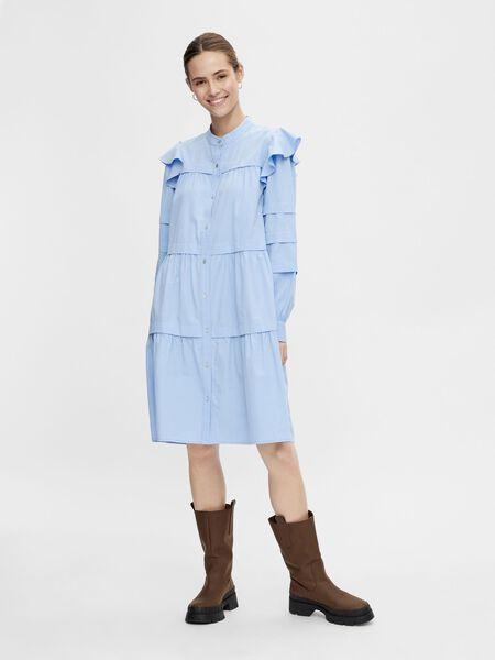 Y.A.S YASVIOLI SHIRT DRESS, Vista Blue, highres - 26024712_VistaBlue_003.jpg