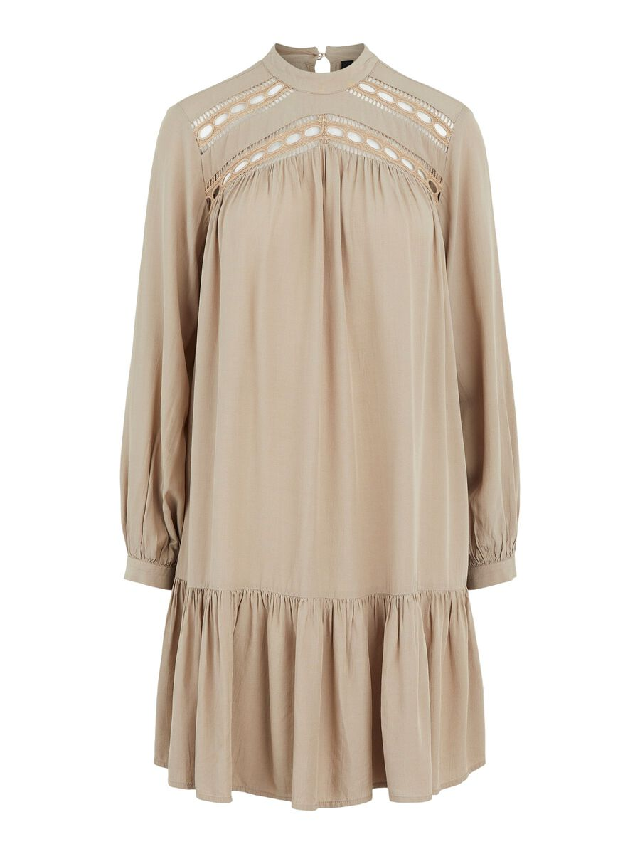 Y.A.S YASROTILLA EMBROIDERED DRESS, Chinchilla, highres - 26021563_Chinchilla_001.jpg