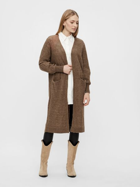 Y.A.S YASCALI KNITTED CARDIGAN, Bronze Brown, highres - 26023500_BronzeBrown_854642_003.jpg