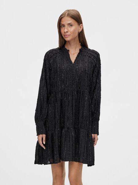 Y.A.S YASGABBY MINI DRESS, Black, highres - 26026633_Black_003.jpg