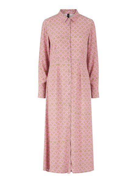 Y.A.S YASTIFFANO SHIRT DRESS, Fuchsia Pink, highres - 26026450_FuchsiaPink_921890_001.jpg