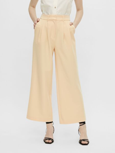 YASSTRAW CROPPED TROUSERS