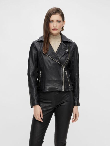 YASMAIA LEATHER JACKET